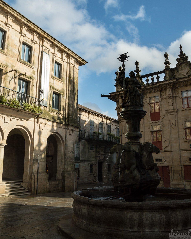 Plaza de Platerías: Un rincón acogedor al lado de la catedral.