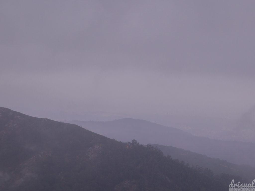 Toma de invierno en las cumbres de la costa gallega