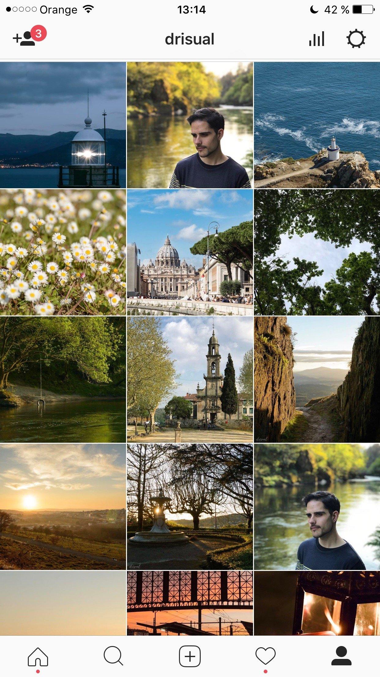 Mi feed de Instagram en Abril (1/2)