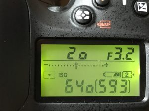 modo de medición puntual