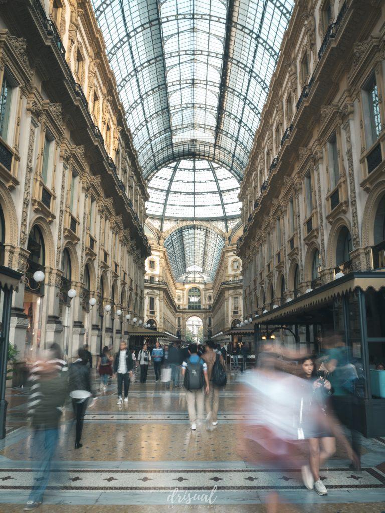 Galería de Vittorio Emanuele en Italia